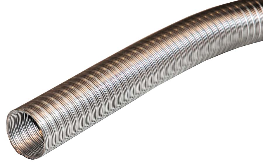 Mm stainless steel exhaust ducting