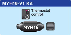 MYH16 Vehicle + 1 hot air outlet